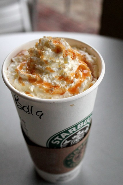 Salted Caramel hot chocolate. YUM! | Flickr - Photo Sharing!