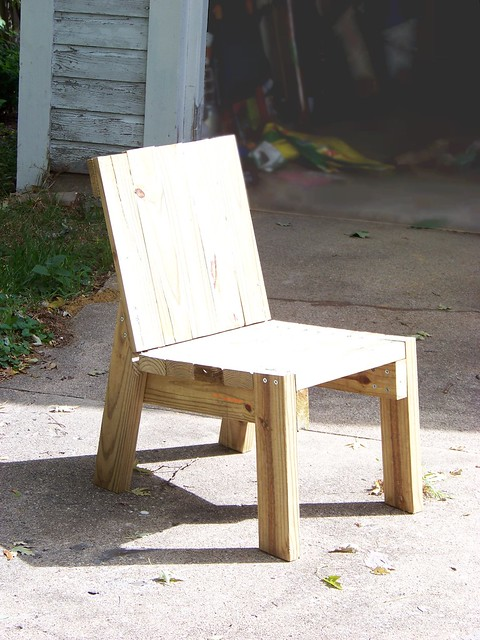 2x4 Chair Flickr Photo Sharing