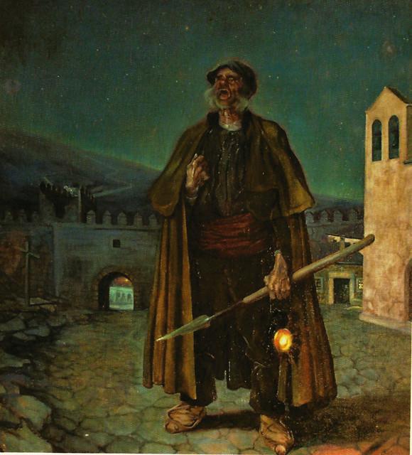 """Caprotti, """"La voz de las tinieblas"""", 1918, Ávila."""