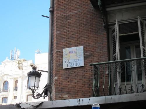 Calle del Prado, Madrid