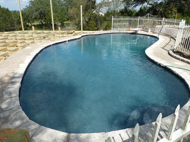 Swimming pool to pond conversion page 2 for Koi pond swimming pool conversion
