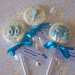 Baby boy chocolate favours