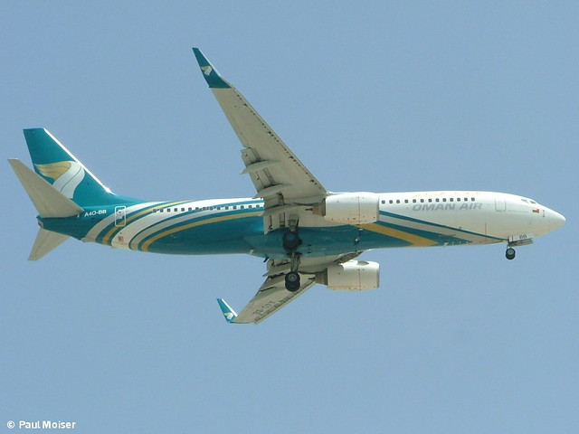 Oman Air 737 A4O-BB Cairo Airport Arrests