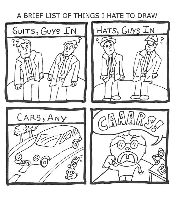 Things i hate to draw 300 dpi a brief list of some for Things to draw list