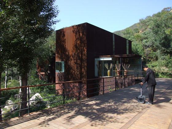 צילום: אדריכלית שירלי טוראל Commune by the Great Wall boutique hotel