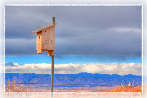 sky mountains clouds birdhouse rockymountains