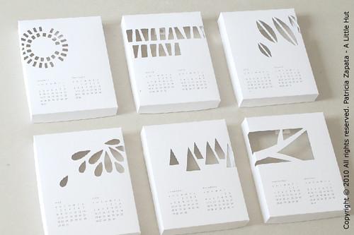 Calendar Design Diy : A little hut patricia zapata calendar