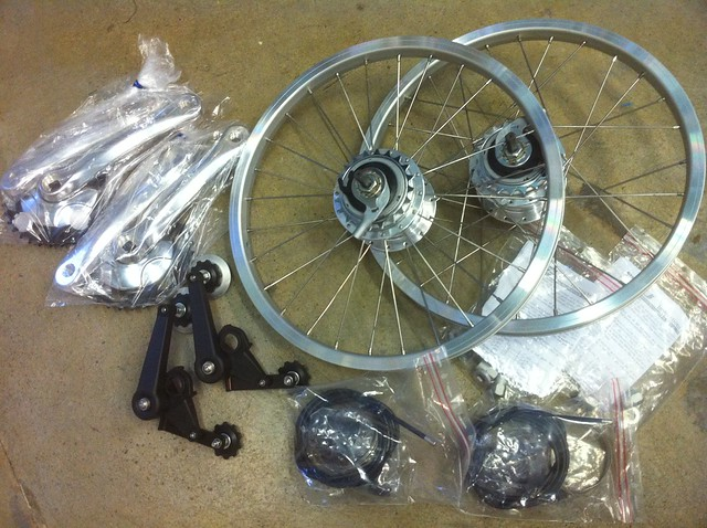 A couple more 8-spd Brompton kits
