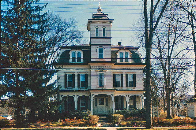 Mansard style house in keene new hampshire flickr for Mansard style homes