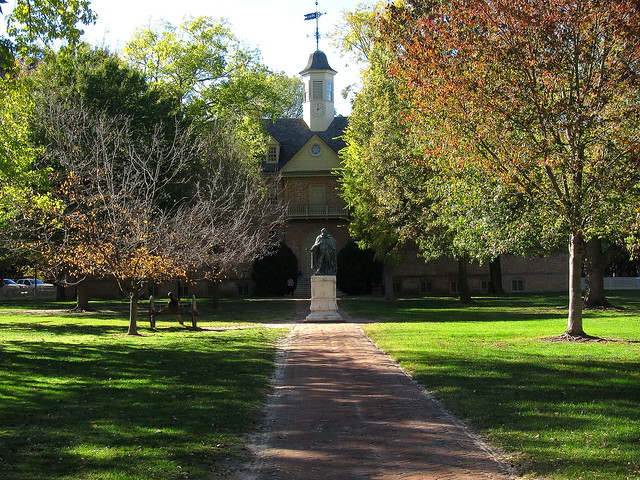 The Wren Building at the College of William and Mary, by Lane 4 Imaging