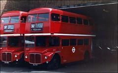 London Transport RM77 VLT 77 and RM2109 CUV 109C