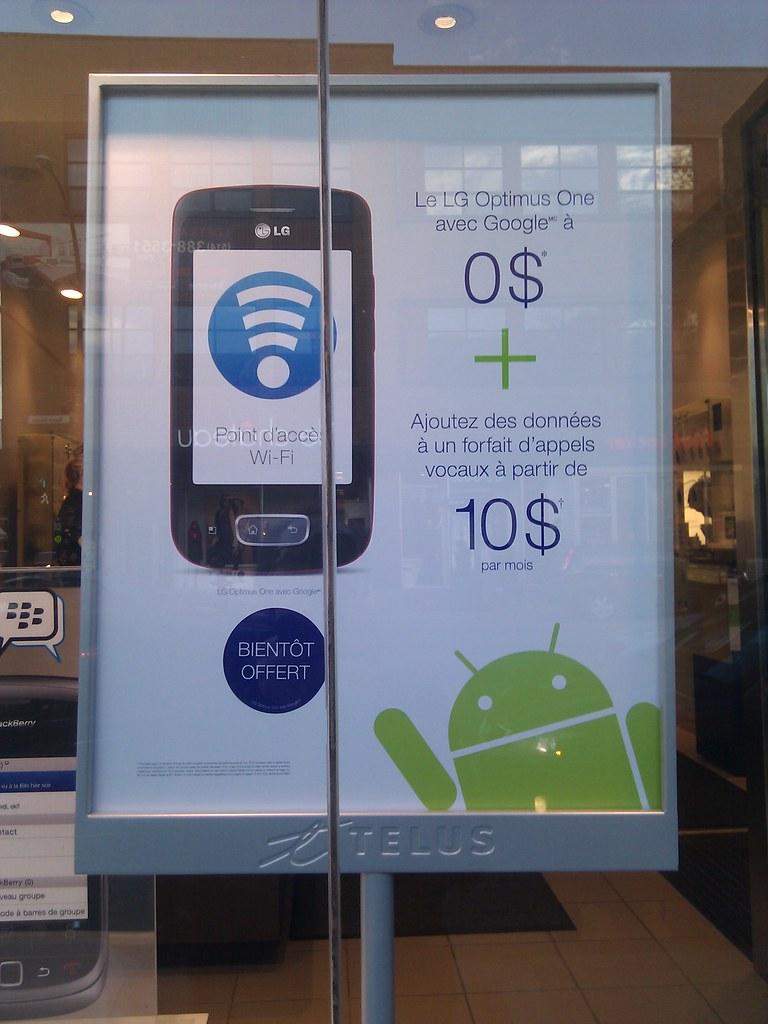 Nouveau teaser android de Telus #LG #Optimus