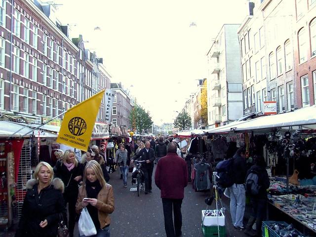 Amsterdam - the Albert Cuypmarkt