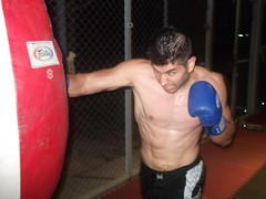 Muay Thai Training with Rick Tew at NinjaGym College of Martial Science