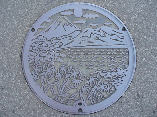 Numazu Shizuoka manhole cover(静岡県沼津市のマンホール)