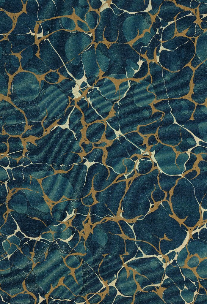 Marble Patterns Designs : Bibliodyssey marbled paper designs