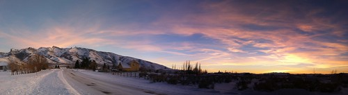 thanksgiving sunset autostitch snow nevada elko iphone rubymountains etsypos