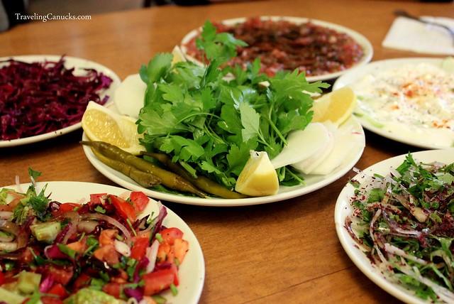 Fresh fixings for Doner Kebabs