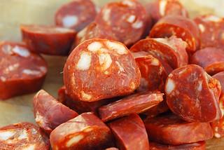 Chorizo A la Sidra - Chorizo cooked in Cider