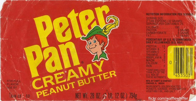 Peter Pan Peanut Butter - 1982 | This is the Peter Pan ...