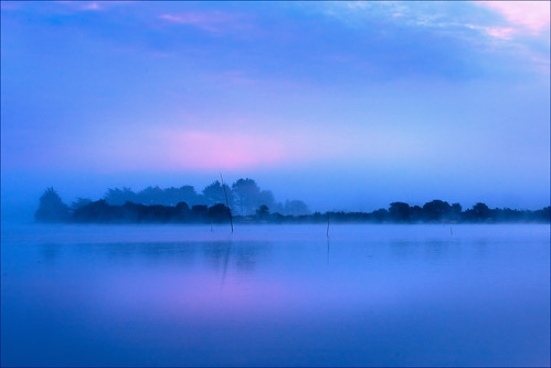 blue sunset france fog bravo brittany bretagne finistere bratanesque christianwilt