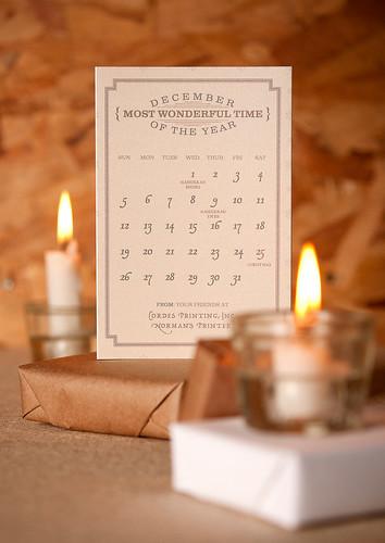 The December Calendar
