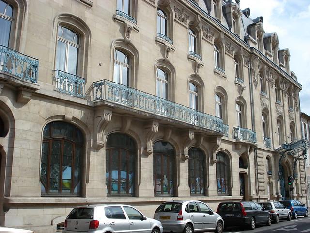 Chambre de commerce et d industrie 1908 40 rue henri for Chambre des architectes