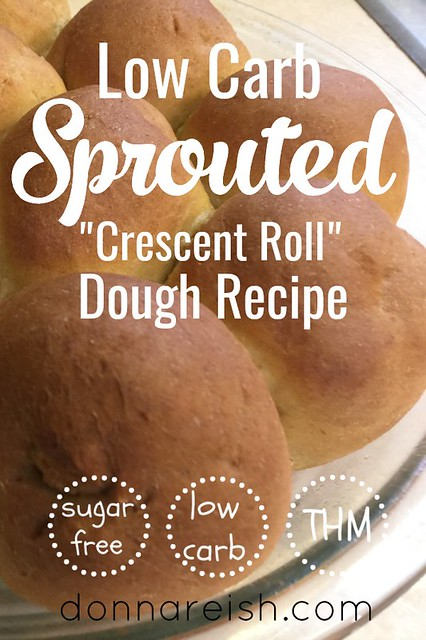 Low Carb Sprouted Crescent Roll Dough Recipe