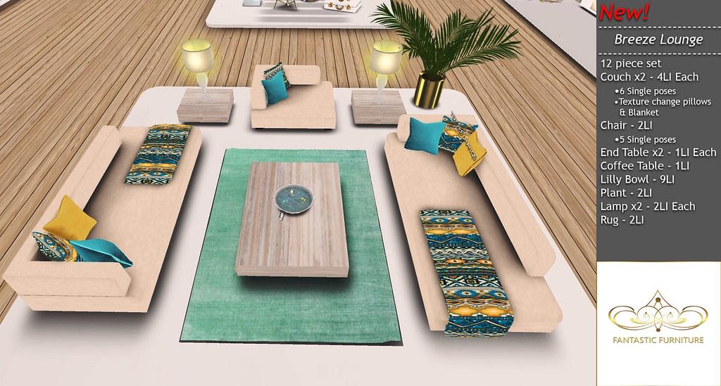 Breeze Lounge Set - SecondLifeHub.com