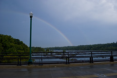 Rainbow Strikes The Boulevard Over The James River