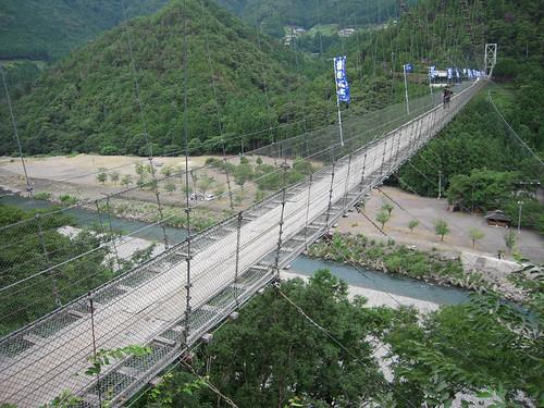 谷瀬の吊橋 - Suspension bridge of Tanize // 2010.07.28 - 06