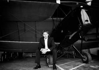 James Martin, TV chef - Tiger Moth