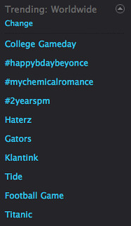 My Chemical Romance trending worldwide on Twitter 2010-09-04 at 1.20.16 PM
