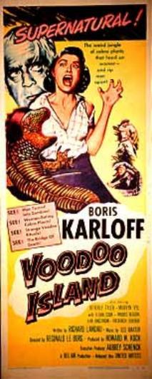 Voodoo Island (Poster)