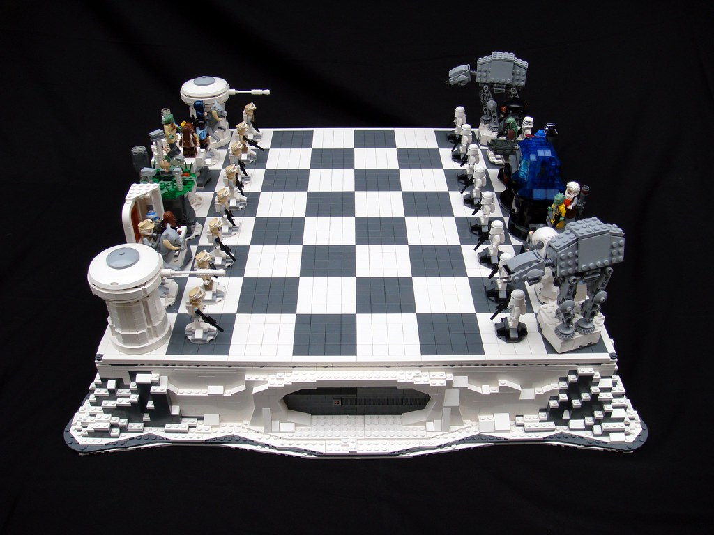 Star Wars The Empire Strikes Back Lego Chess A Photo On
