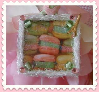 Macaron Soldered Charm