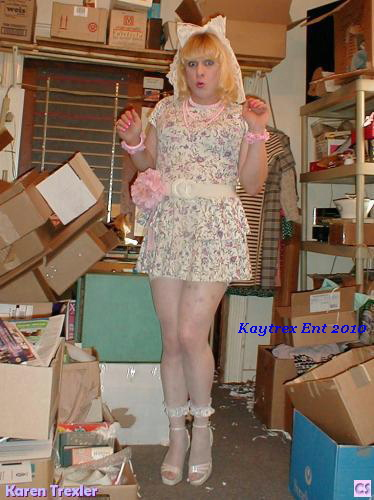 Boy in Sissy Dress Captions