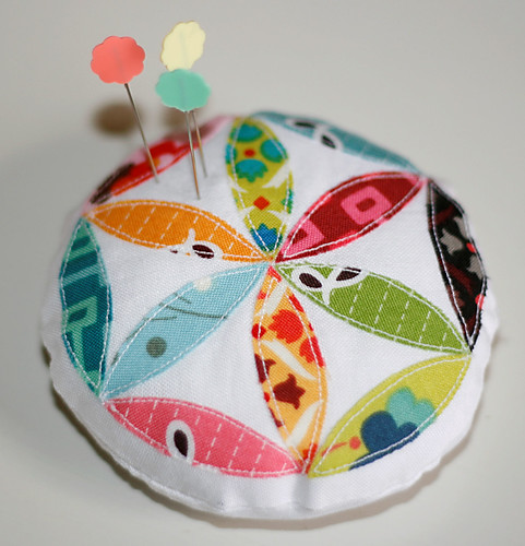 Scrappy Pincushion Swap--Round 2
