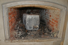 fireplace, hearth,