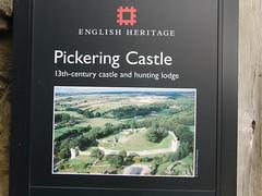 Pickering Castle-Yorkshire.