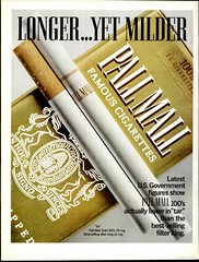 Pall Mall Cigarettes Advertising