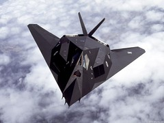 aviation, military aircraft, airplane, wing, vehicle, lockheed f-117 nighthawk, jet aircraft, air force,