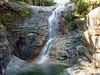 Remontée du ravin du Finicione en Haut-Cavu : belle cascade à contourner