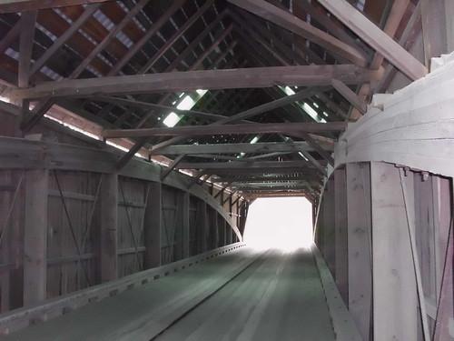 Covered bridge Bridgewater VT (2)
