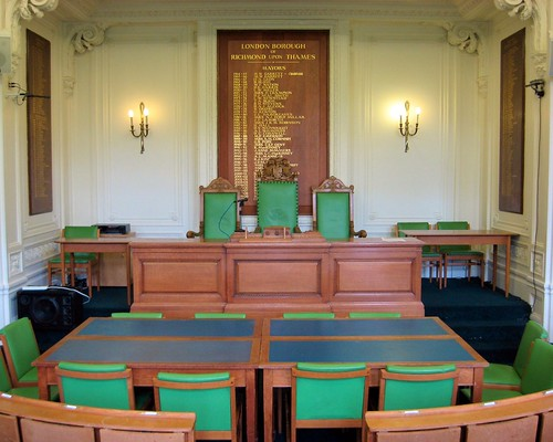 Picture of a council chamber