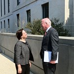 Sen. Leahy, Justice Kagan Make Small Talk