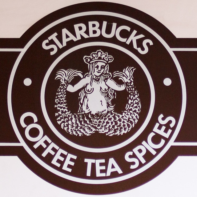 Starbucks original logo | Flickr - Photo Sharing!