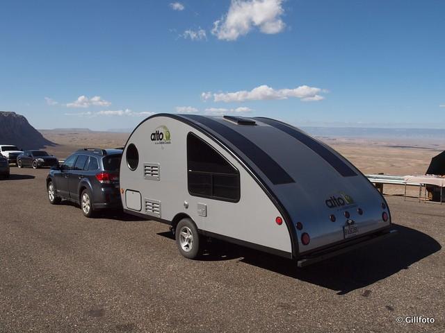 Fantastic Canadian Range Trailer  Tent B1 Setup Video 1m45s