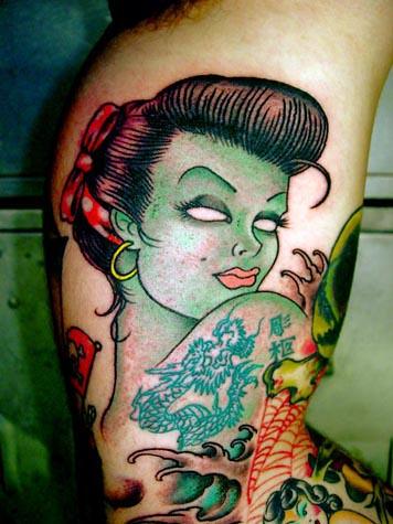 44 flickr photo sharing for Zombie tattoo machine