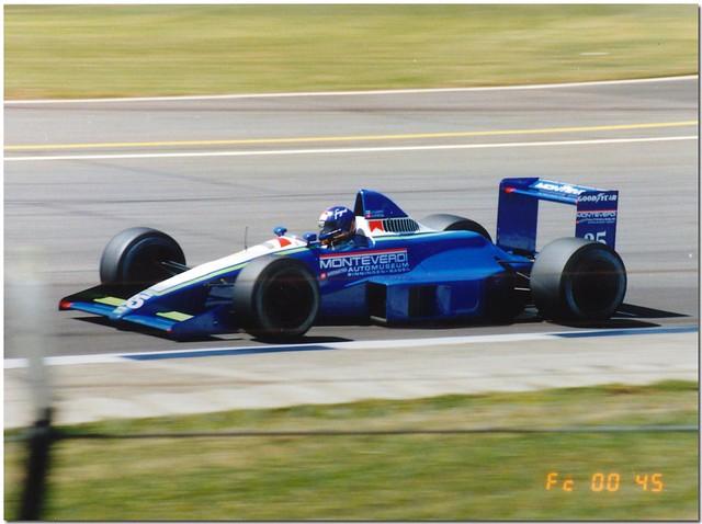 Gregor Foitek Monteverdi Onyx Ford ORE-1 F1. 1990 British GP Silverstone.